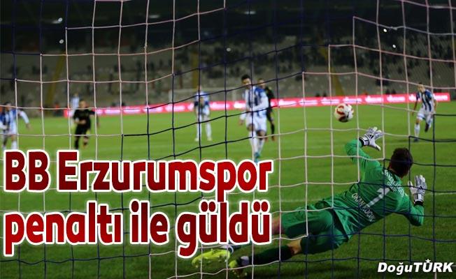 BB Erzurumspor penaltı ile güldü