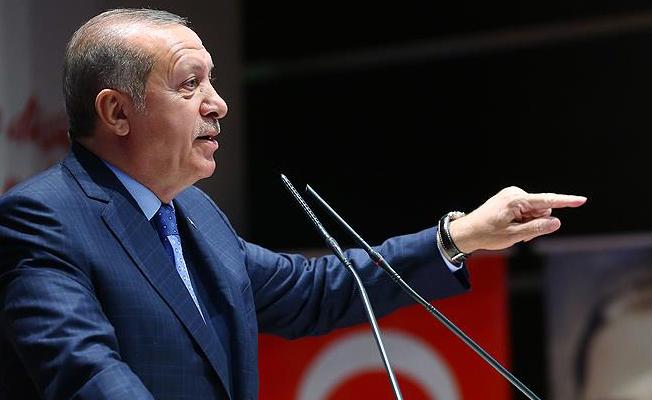 Erdoğan'dan istifa açıklaması