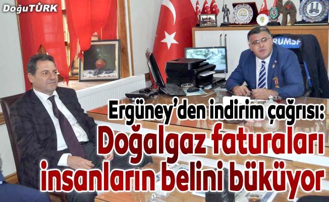 Ergüney: Doğalgaz indirimi Erzurum için de uygulanmalı