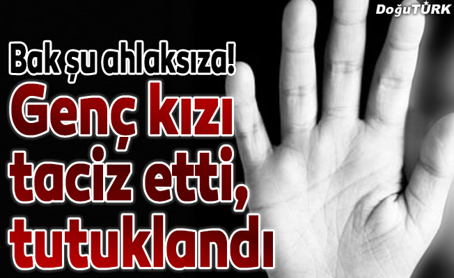 Erzurum'da taciz iddiası