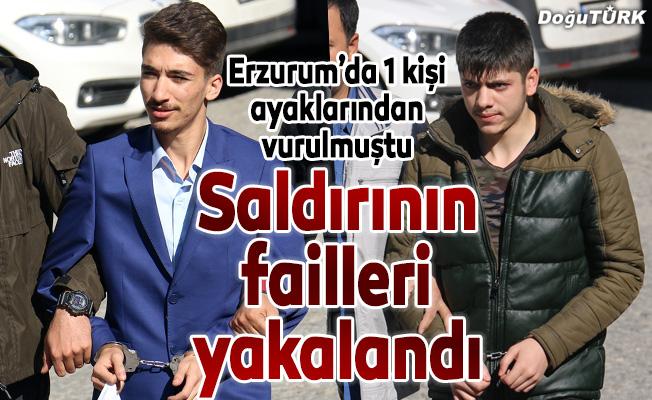 Erzurum'daki silahlı saldırının failleri yakalandı