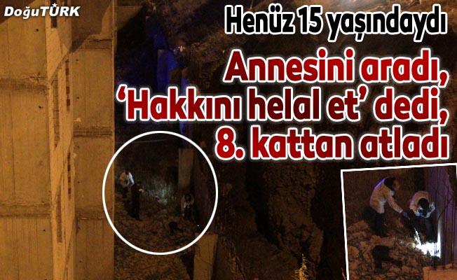 Erzurum'da şok olay: Biri intihar etti, diğeri kurtarıldı