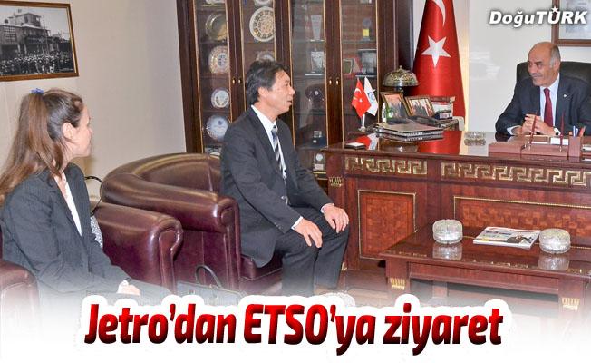 Japon yatırım ajansı Jetro'dan ETSO'ya ziyaret