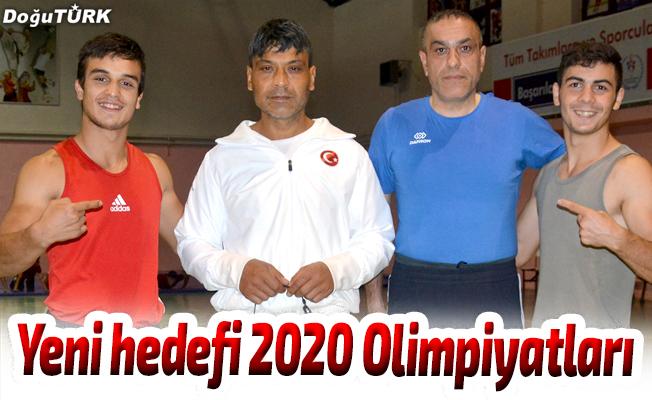 Yeni hedefi 2020 Olimpiyatları