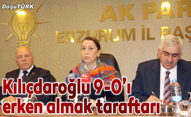 """""""Kılıçdaroğlu 9-0'ı erken almak taraftarı"""""""