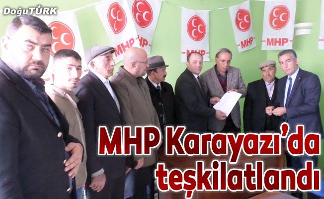 MHP Karayazı'da teşkilatlandı