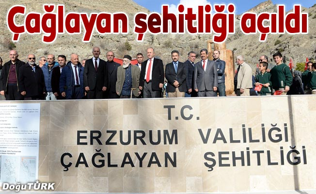 Osmanlı askerleri için yapılan şehitlik törenle açıldı