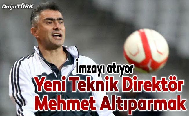 Yeni Teknik Direktör Mehmet Altıparmak