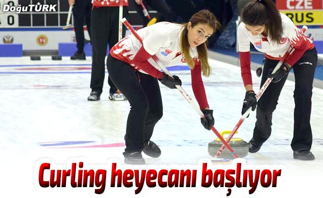 Curling heyecanı başlıyor