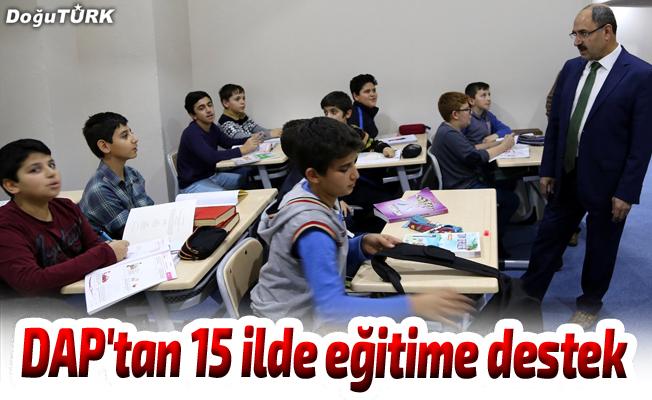 DAP'tan 15 ilde çocukların eğitimine destek