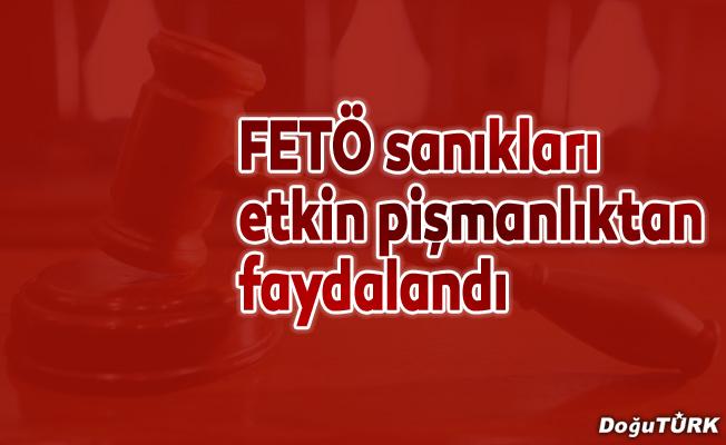 Etkin pişmanlıktan yararlanan FETÖ sanıklarının cezası ertelendi