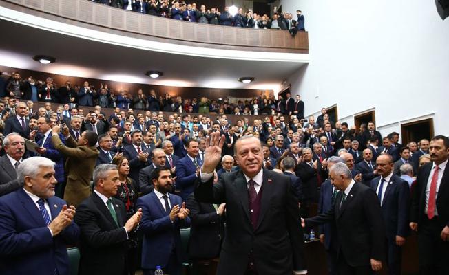 Cumhurbaşkanı Erdoğan: Bu trenden düşenler düştükleri yerde kalır