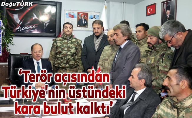 """""""Terör açısından Türkiye'nin üstündeki kara bulut kalktı"""""""