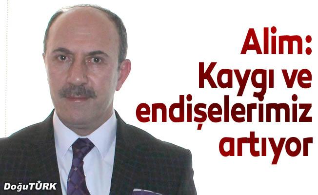 Alim: Erzurum'un verdiği göçten kaygılıyız