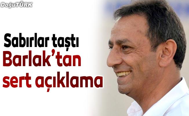 BB Erzurumspor'dan sert açıklama