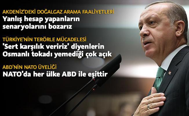 Cumhurbaşkanı Erdoğan: Yanlış hesap yapanların senaryolarını bozarız