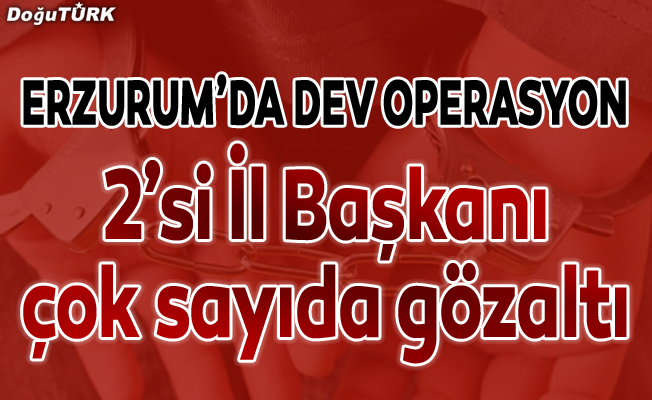 Erzurum polisi tepelerine bindi