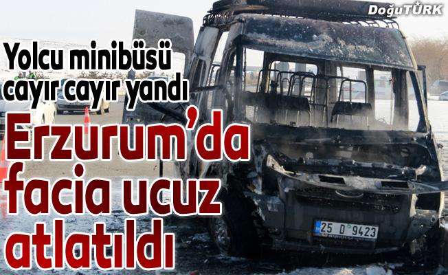 Erzurum'da faciaya ramak kaldı