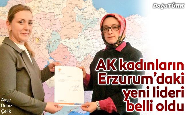 İşte Erzurum'daki Ak kadınların lideri