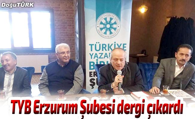 TYB Erzurum Şubesi dergi çıkardı