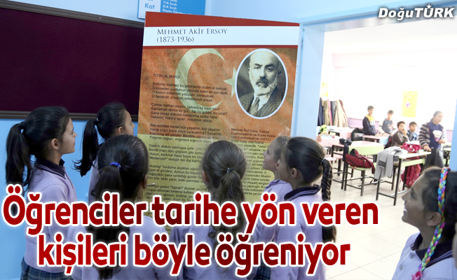 Sınıf kapıları tarihi anlatıyor