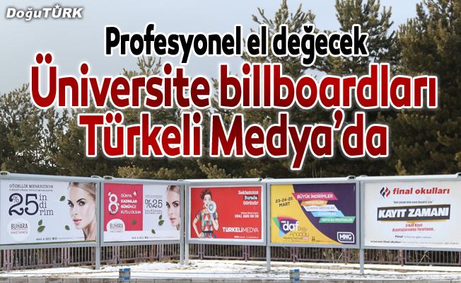 Üniversite Billboardları Türkeli Medya'da