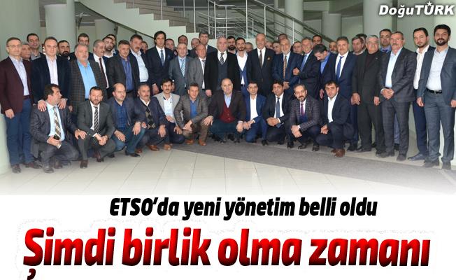 ETSO'da yönetim belirlendi