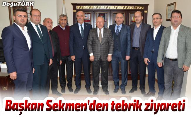 Başkan Sekmen'den ETSO yönetimine tebrik ziyareti