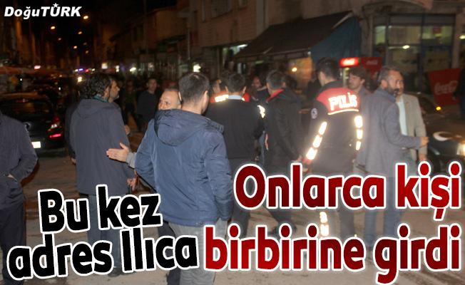 Erzurum'da bıçaklı sopalı kavga: 5 yaralı
