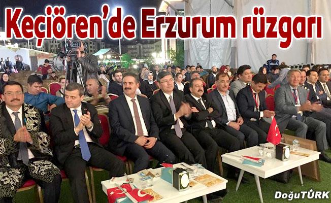 Keçiören'de Erzurum rüzgarı