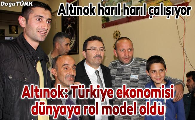 Altınok: Türkiye ekonomisi dünyaya rol model oldu