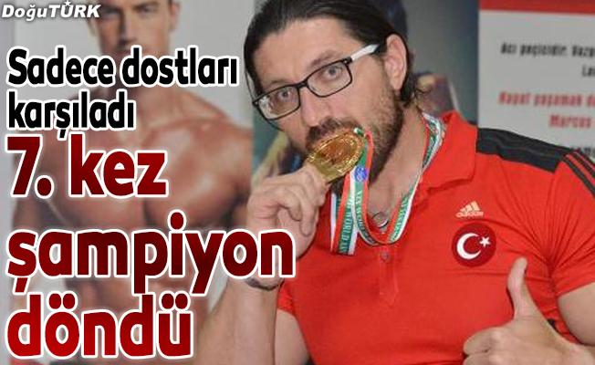 Avrupa şampiyonu Seven yurda döndü