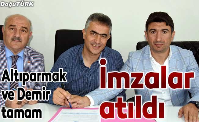 BB Erzurumspor, Altıparmak'la sözleşme yeniledi