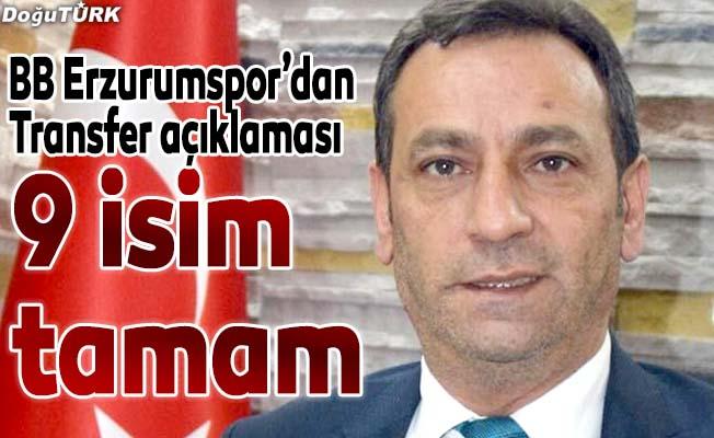 BB Erzurumspor'da transfer çalışmaları
