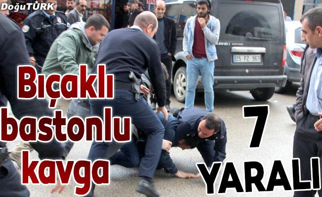 Erzurum'da bıçaklı kavga: 7 yaralı