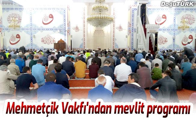 Mehmetçik Vakfı'ndan mevlit programı