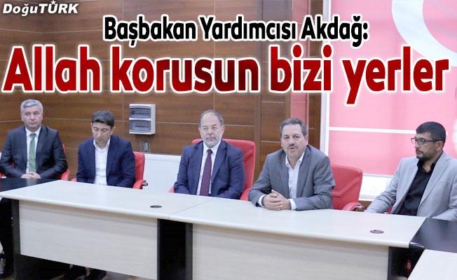 Türkiye güçlü olmazsa Allah korusun bizi yerler