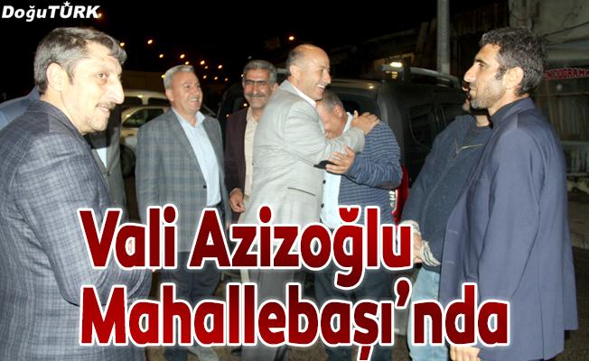 Vali Azizoğlu, Mahallebaşı'nda vatandaşları dinledi