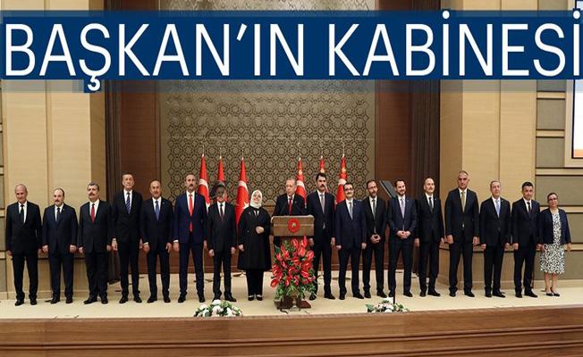 Başkan'ın kabinesi