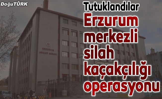 Erzurum merkezli silah kaçakçılığı operasyonu