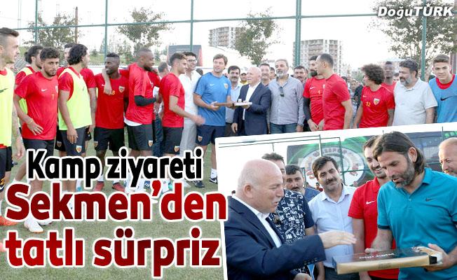 Sekmen: Erzurum sporda da kalkınma dönemi yaşıyor