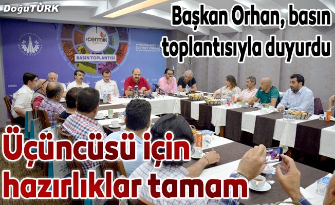"""""""3. Ilıca Çermik Festivali"""" başlıyor"""