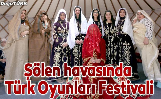Erzurum Türk Oyunları Festivali dolu dolu geçiyor