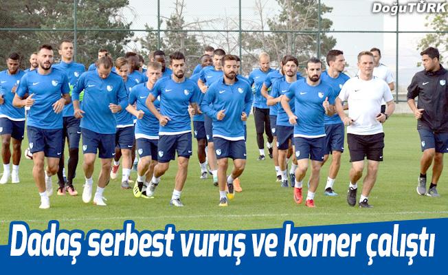 Erzurumspor'da Beşiktaş maçı hazırlıkları sürüyor
