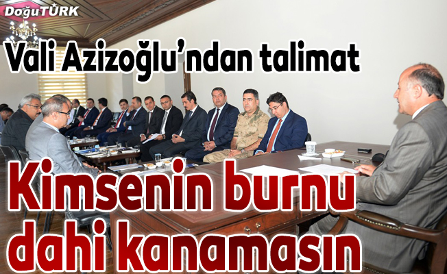 Tarihi Erzurum Kongre Binası'nda kaymakamlar toplantısı