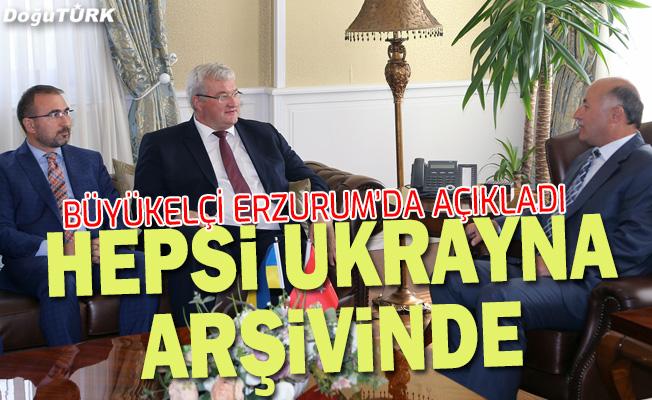 Erzurum'un asırlık kayıtları Ukrayna arşivinde