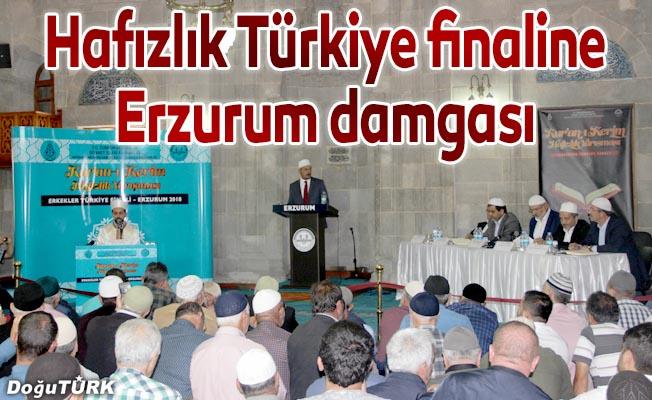 Hafızlık Türkiye finalinin kazananı Erzurum oldu