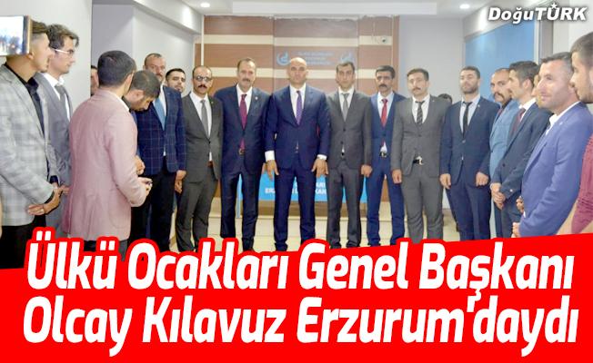Olcay Kılavuz Erzurum'daydı