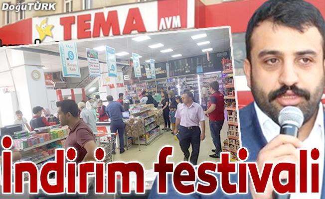 TEMA'da indirim festivali