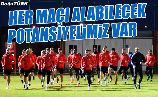 BB Erzurumspor, Trabzonspor maçı hazırlıklarını sürdürüyor